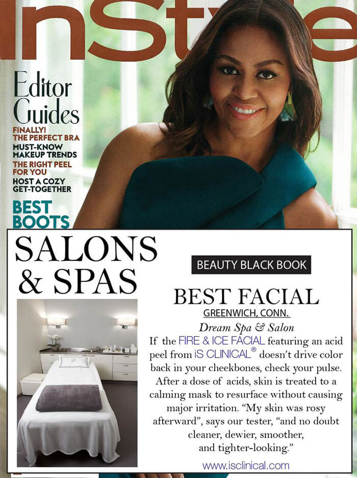 Dream Spa Featured in InStyle Magazine