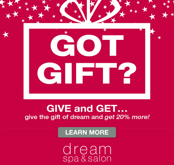 Dream Holiday Gift Special
